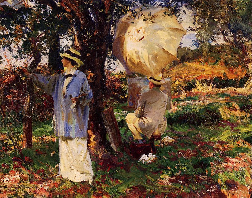 The Sketchers 1914 | John Singer Sargent | Oil Painting