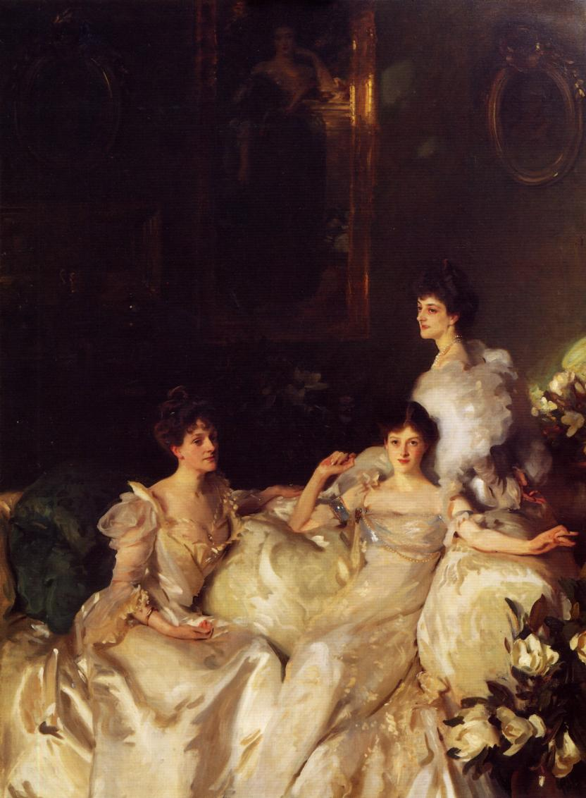The Wyndham Sisters 1899 | John Singer Sargent | Oil Painting