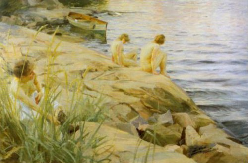 Outdoors 1888 | Anders Zorn | Oil Painting