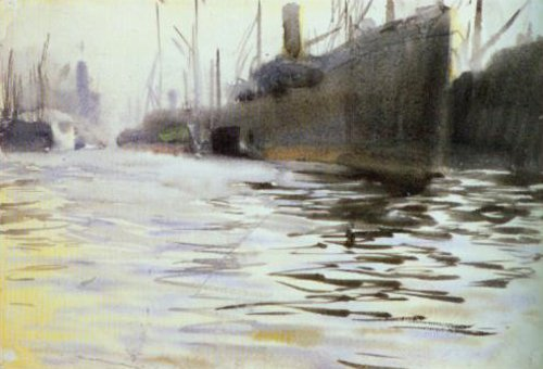 Port of Hanburg 1891 | Anders Zorn | Oil Painting