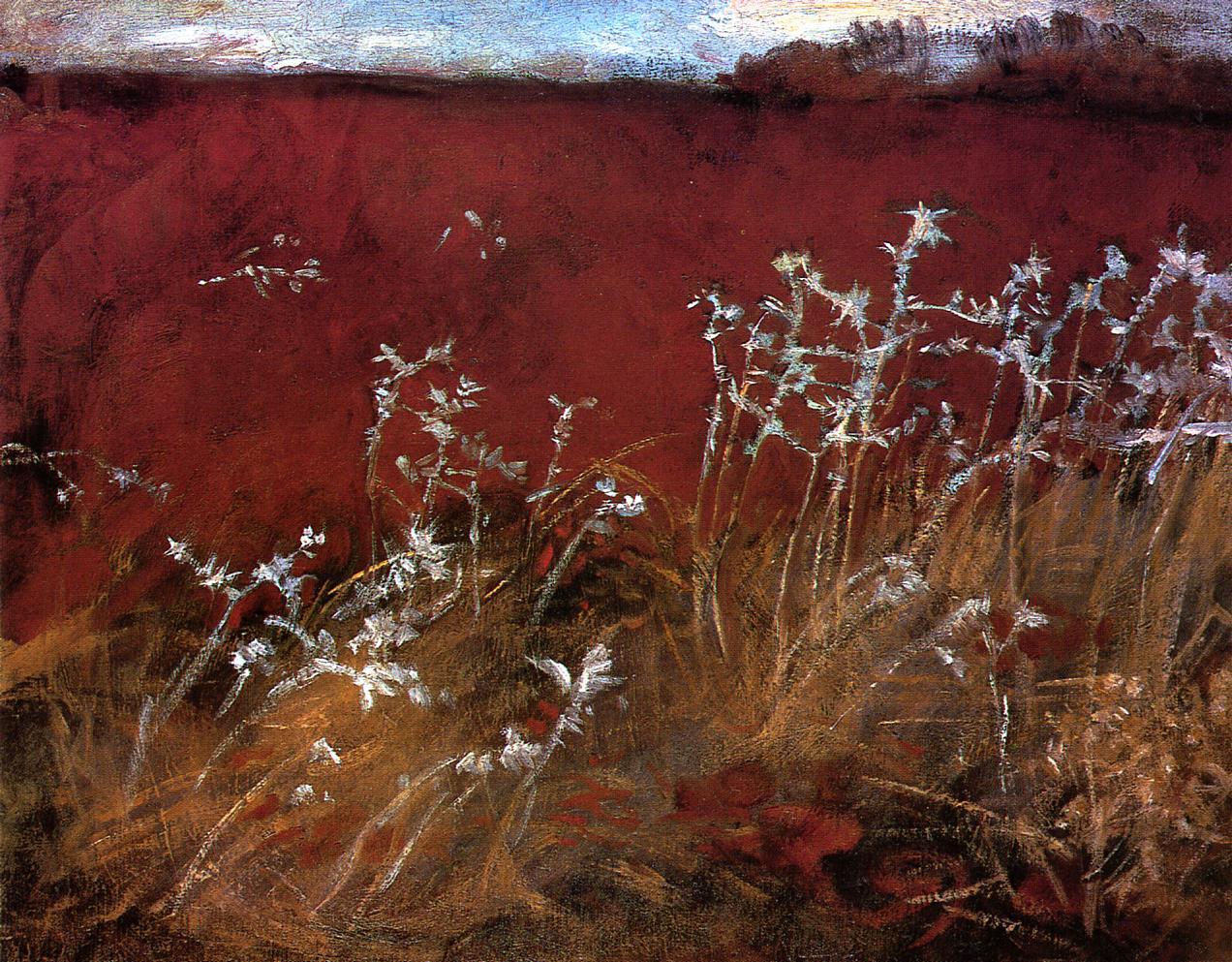 Thistles 1883-1884 | John Singer Sargent | Oil Painting