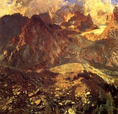 Val dAosta 1907 | John Singer Sargent | Oil Painting