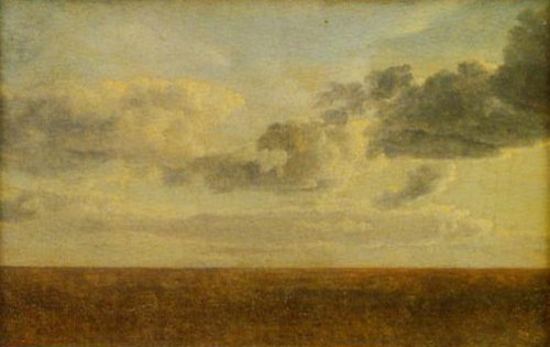 Study of Clouds over the Sea | C.w.Eckersberg | Oil Painting