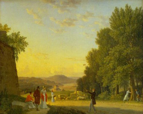 View from the Chateau Meudon 1813 | C.w.Eckersberg | Oil Painting