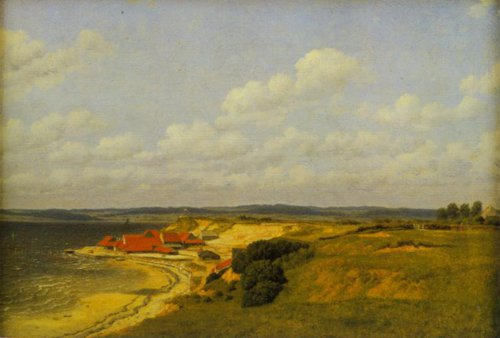 View of the Tile Works at Renbjerg 1830 | C.w.Eckersberg | Oil Painting