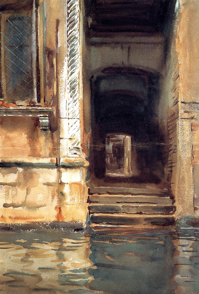 Venetian Doorway 1902 | John Singer Sargent | Oil Painting