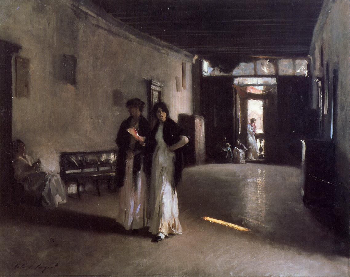 Venetian Interior 1880-1882 | John Singer Sargent | Oil Painting