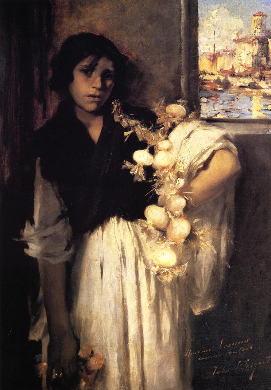 Venetian Onion Seller 1880-1882 | John Singer Sargent | Oil Painting