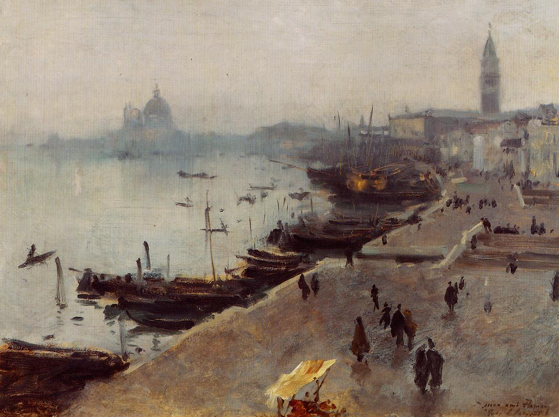 Venice in Gray Weather 1880-1882 | John Singer Sargent | Oil Painting