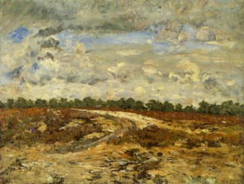 Wild Country Forest Of Fontainebleau 1876 | Carl Fredrik Hill | Oil Painting