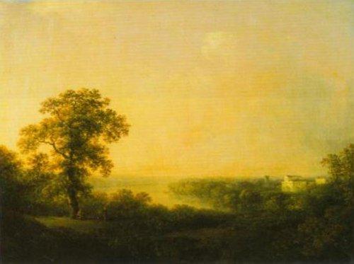 View over Haga 1811 | Carl Johan Fahlcrantz | Oil Painting