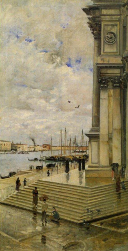 Canale Grande In Vinice 1882 | Carl Skanberg | Oil Painting