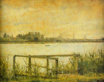 Copenhagen seen from Dosseringen 1837 | Christen Kobke | Oil Painting