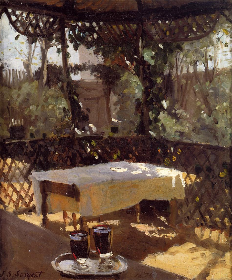 Wineglass  1875 | John Singer Sargent | Oil Painting