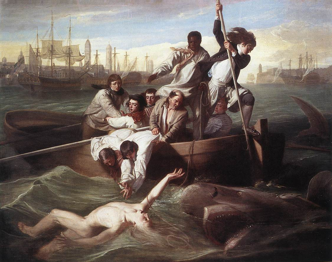 Brook Watson And The Shark 1778 | John Singleton Copley | Oil Painting
