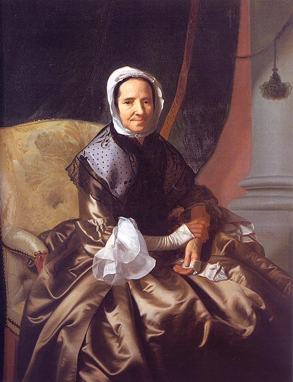 Mrs Thomas Boylston (Sarah Morecock) 1765-66 | John Singleton Copley | Oil Painting