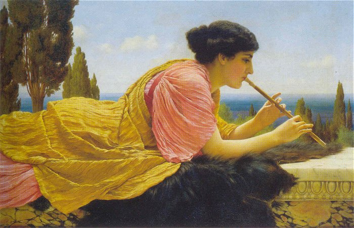 A Melody 1904 | John William Godward | Oil Painting
