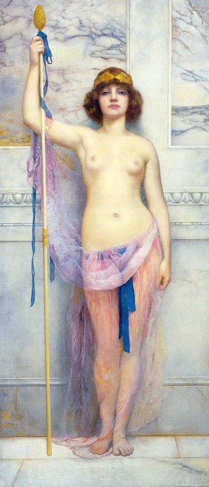 A Priestess 1893 | John William Godward | Oil Painting