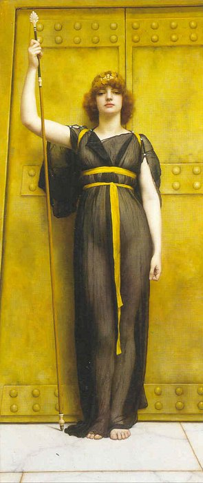 A Priestess 1894 | John William Godward | Oil Painting