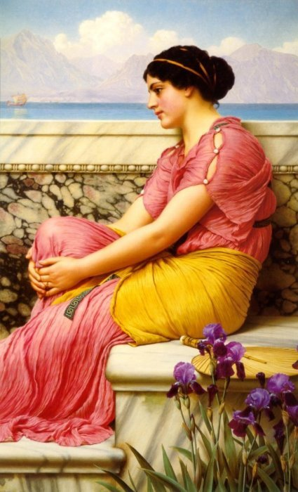 Absence Makes The Heart Grow Fonder 1912 | John William Godward | Oil Painting