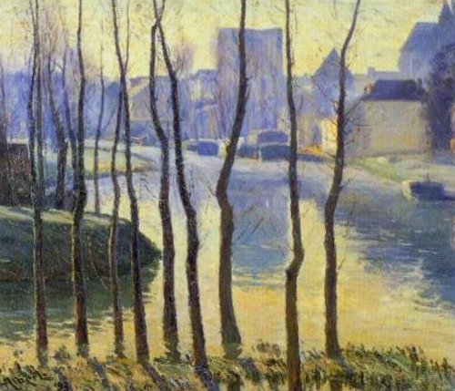 Moret sur Loing 1893 | Gustave Albert | Oil Painting