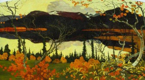 Autumn 1907 | Helmer Osslund | Oil Painting