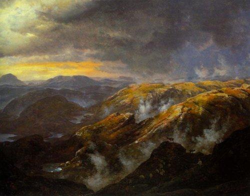 View from Lyshornet 1836 | J.C.Dahl | Oil Painting