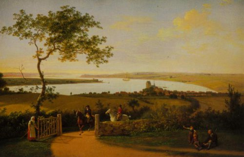 View of the Little Belt near Middlefart 1799 1800 | Jens Juel | Oil Painting