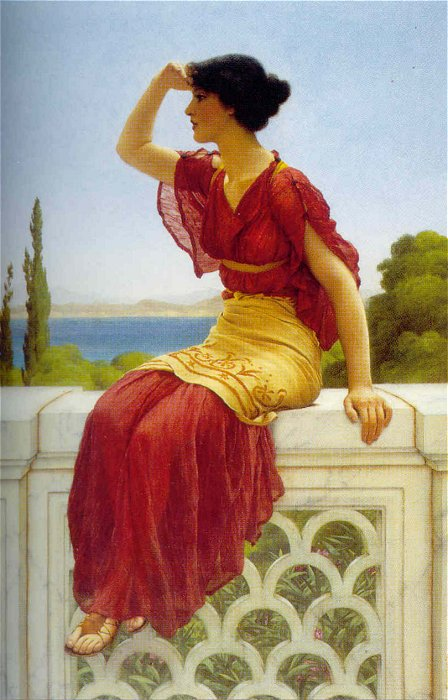 The Signal 1899 | John William Godward | Oil Painting