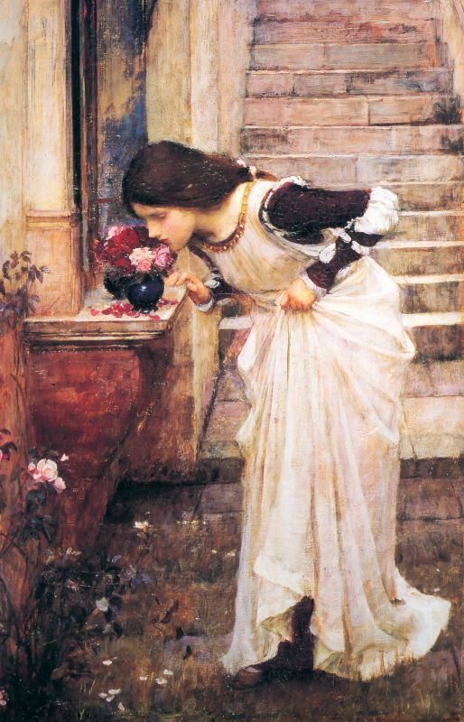 At The Shrine | John William Waterhouse | Oil Painting