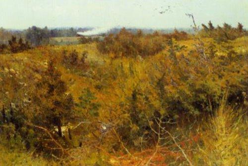Landscape Grez sru Loing 1885 6 | Karl Nordstrom | Oil Painting