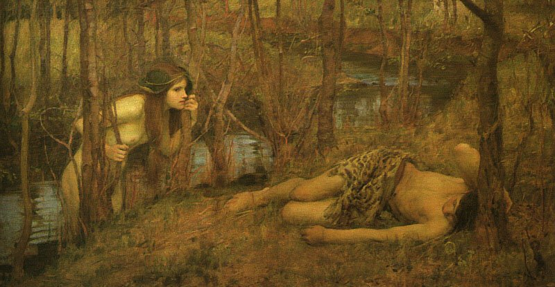 A Naiad | John William Waterhouse | Oil Painting