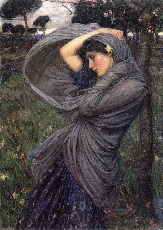 Boreas | John William Waterhouse | Oil Painting