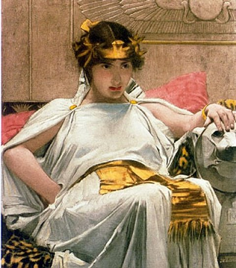 Cleopatra | John William Waterhouse | Oil Painting