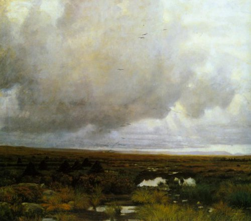 Peat Bof 1880 | Kitty Kielland | Oil Painting