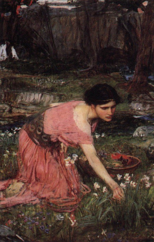 Flora | John William Waterhouse | Oil Painting