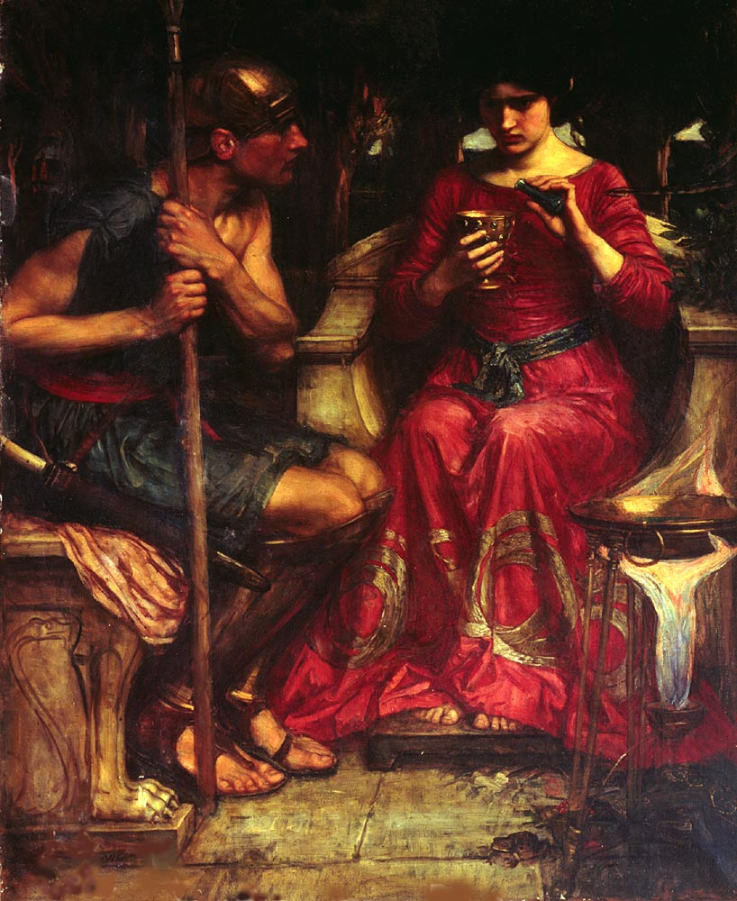 Jason And Medea | John William Waterhouse | Oil Painting