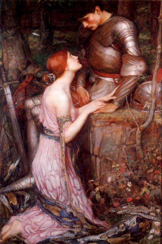 Knight | John William Waterhouse | Oil Painting