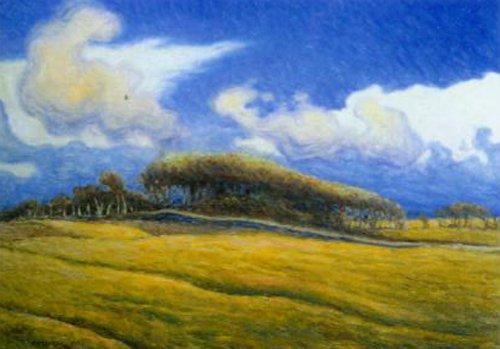 Hailstorm Apelvik 1893 | Nils Kreuger | Oil Painting