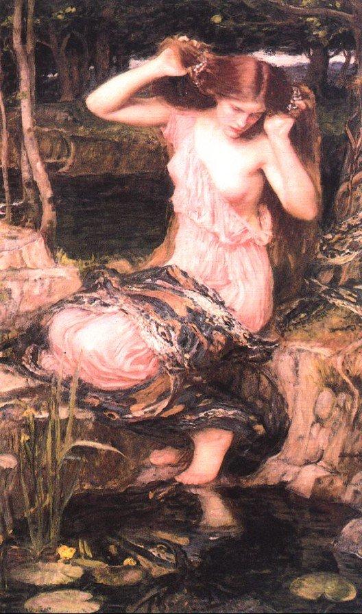Lamia2 | John William Waterhouse | Oil Painting