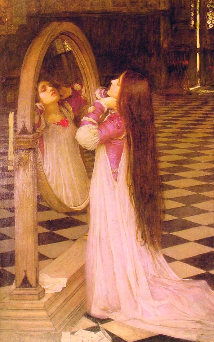 Mariana In The South | John William Waterhouse | Oil Painting