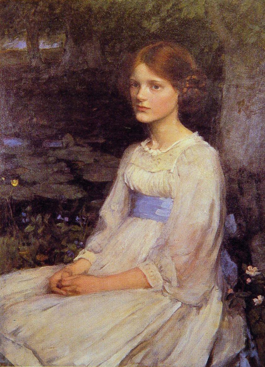 Miss Betty Pollock | John William Waterhouse | Oil Painting