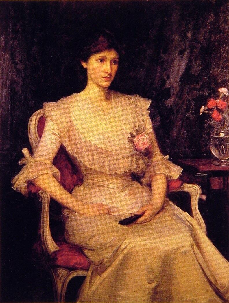 Miss Margaret Henderson | John William Waterhouse | Oil Painting