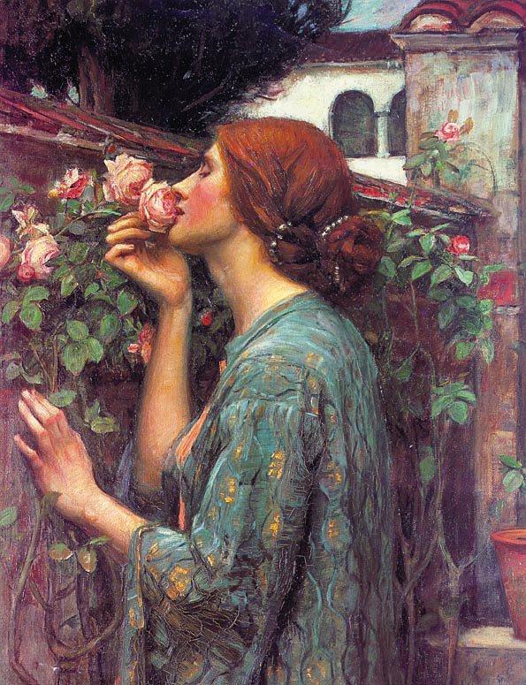 My Sweet Rose | John William Waterhouse | Oil Painting