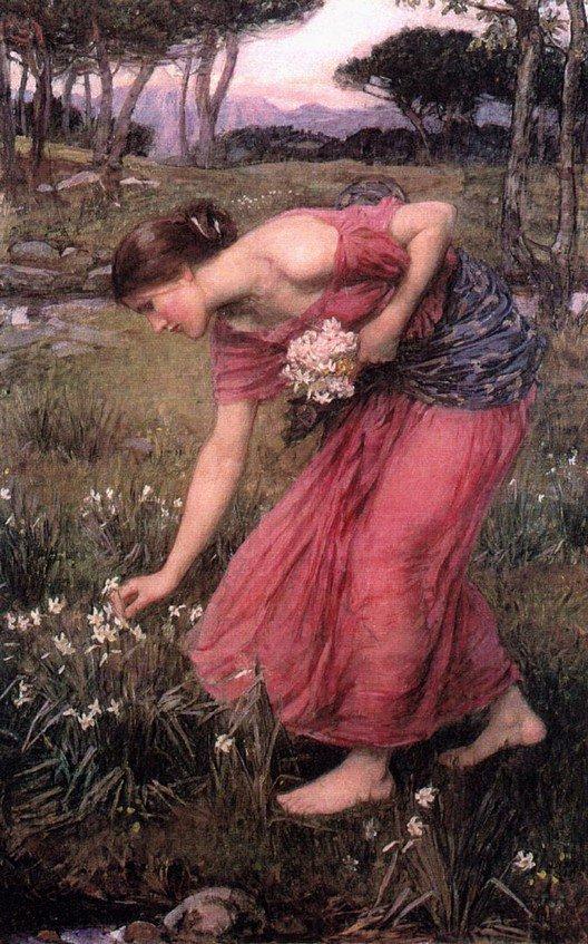 Narcissus | John William Waterhouse | Oil Painting