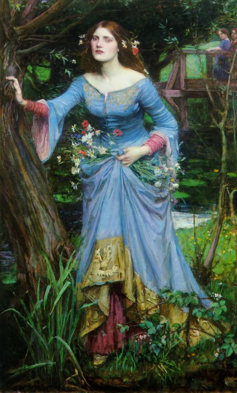 Ophelia | John William Waterhouse | Oil Painting