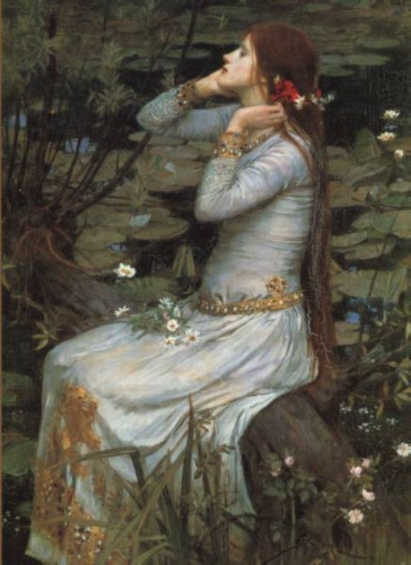 Ophelia2 | John William Waterhouse | Oil Painting