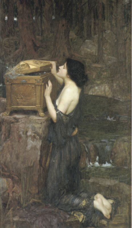 Pandora | John William Waterhouse | Oil Painting