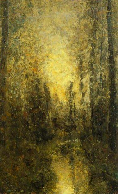 Sunlight through the Trees | Per Ekstrom | Oil Painting