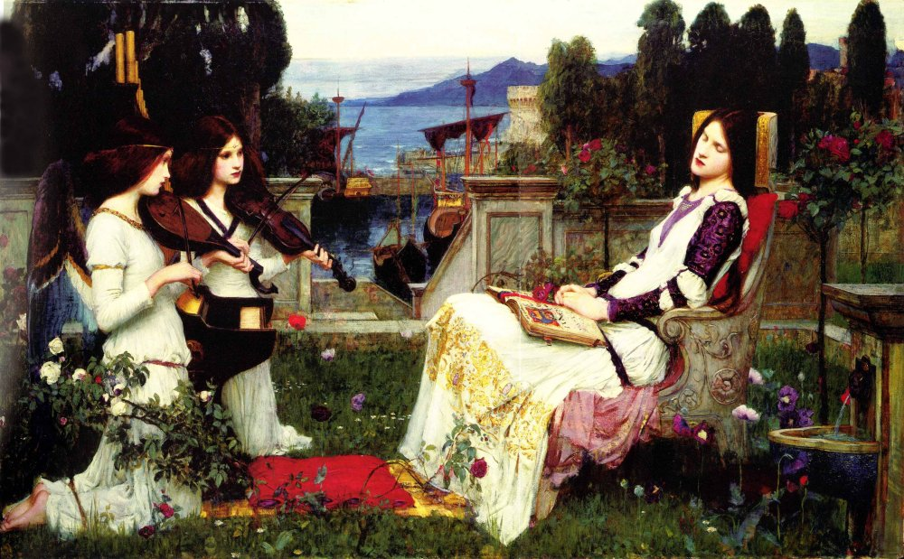 Saint Cecilia | John William Waterhouse | Oil Painting